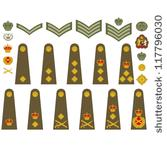 stock-vector-epaulets-military-ranks-and-insignia-illustration-on-white-background-117796030